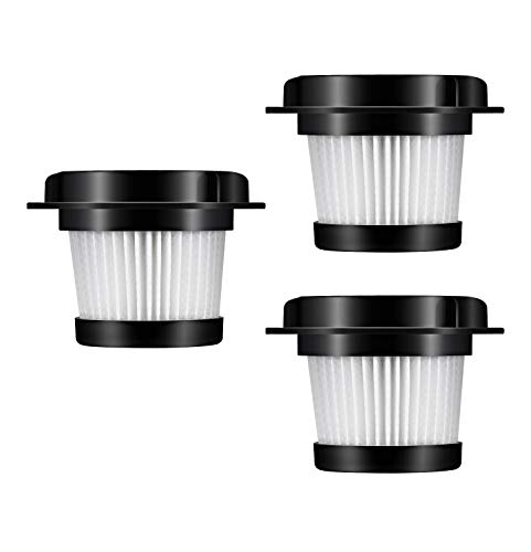 Holife 3 Pack Vacuum Filters, Genuine Replacement HEPA Filters for HM036E Handheld Vacuum Cleaners