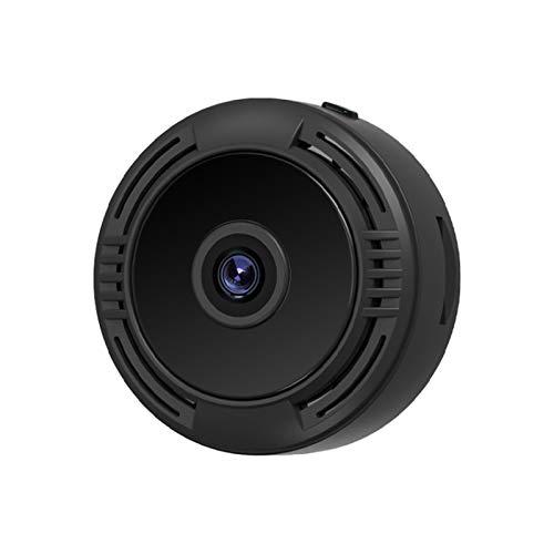 FEDBNET WiFi mini cámara, 1080 p visión nocturna detección de movimiento base magnética teléfono hogar App vigilancia multifuncional videocámara