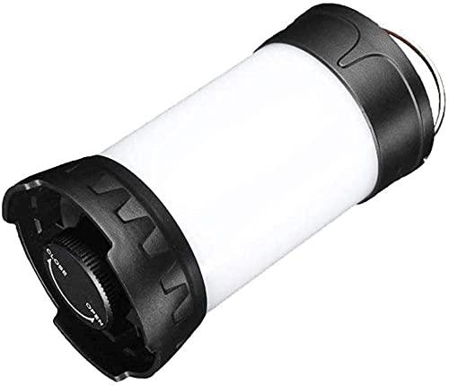 WXking Iluminación para Acampar al Aire Libre con la Carga de Carga USB Campamento multifunción Luz roja y Blanca de Dos Colores Diseño de luz de Dos Colores Diseño de imán Fuerte La Vida Impermeable