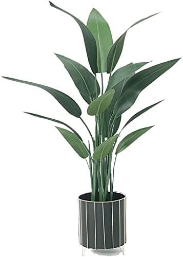 Árboles Artificiales Planta Artificial Verde Plantas en macetas Grandes de Interior Árboles Falsos para la casa Oficina en casa Jardín Decoración Moderna Plantas Artificiales