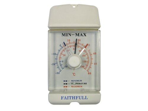 Faithfull Thermometer Dial Max- Min