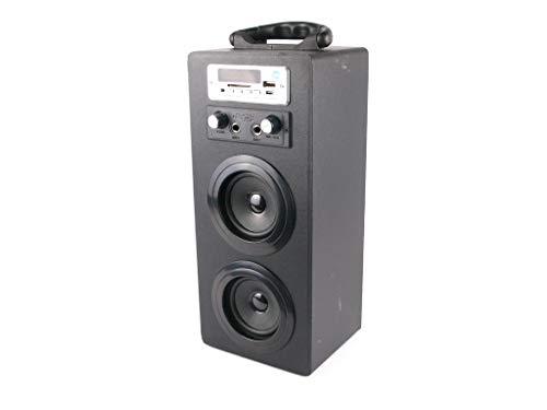 Mini Torre de Sonido NK-MT3242-BT - Micrófono Karaoke, Blue