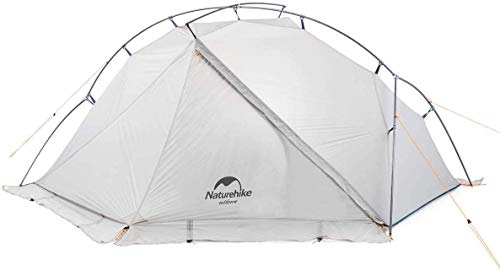 Naturehike VIK 1 Person Ultralight 4 Season Backpacking Tents with Footprint - 15D Lightest Portable...
