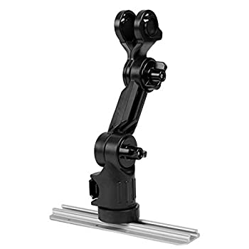 YakAttack Lowrance Hook2 Fish Finder Mount with Track Mounted LockNLoad Mounting System