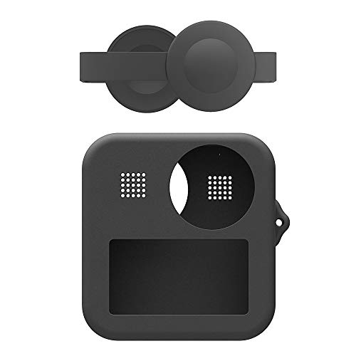 PULUZ para GoPro MAX Dual len Caps Case Cover + Body Soft...