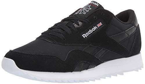 Reebok Zapatos casuales clásicos de nylon para mujer, (negro, blanco, rojo, (Black/White/Excellent...
