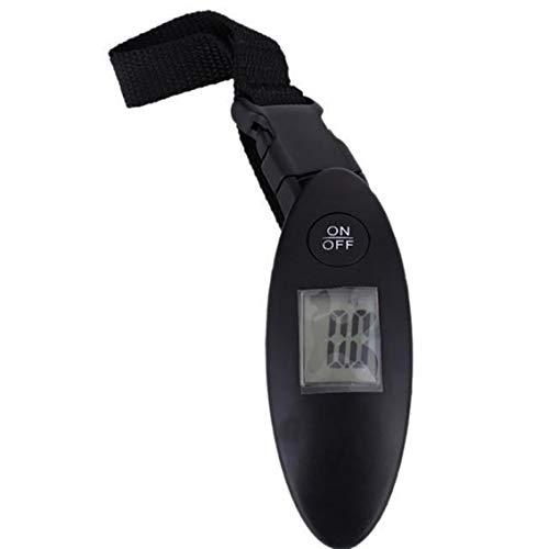Colgante Pequeño hogar Báscula de alta precisión Báscula de marcación portátil Lcd Báscula electrónica de peso digital - Negro