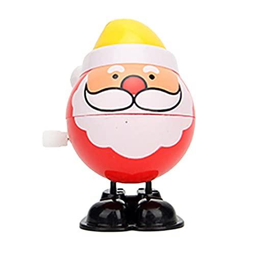 FINIVE Wind-up Toys - Juguetes de cuerda para decoración navideña, multiusos resistente al desgaste, 4