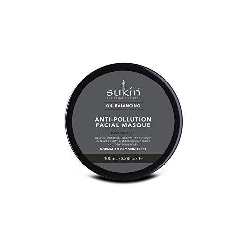 Sukin Oil Balance Anti -Pollution Charcoal Facial Masque 100ml/1.69oz