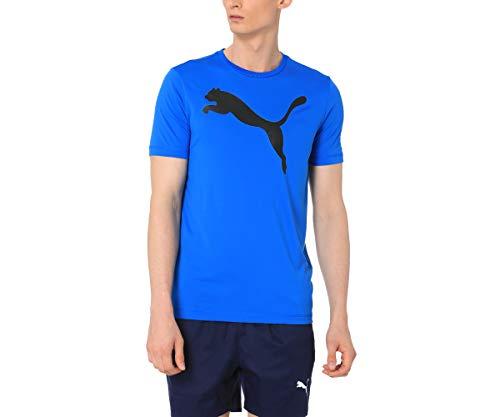 Camiseta Active Big Logo, Puma, Masculino, Azul Escuro, G