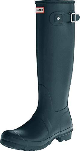 Hunter Hunter Original Tall Gloss, Hausschuhe für Damen, blau - Blau (Ocean) - Größe: 36 EU