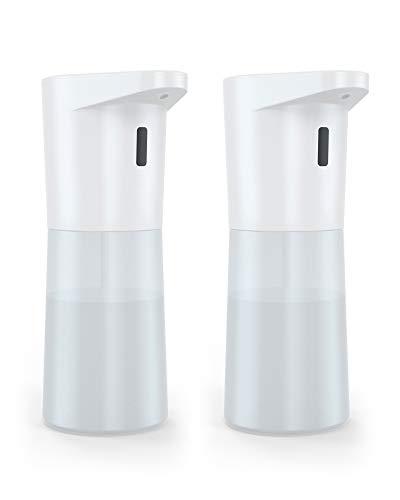 KENUO アルコールディスペンサー アルコール自動噴霧器 2段 ノータッチ 500ml 大容量 IPX4防水 壁掛け可能 洗面所 キッチン 会社 学校 病院適用【2個セット】