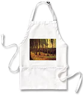 Edge of a Wood By Vincent Van Gogh Apron