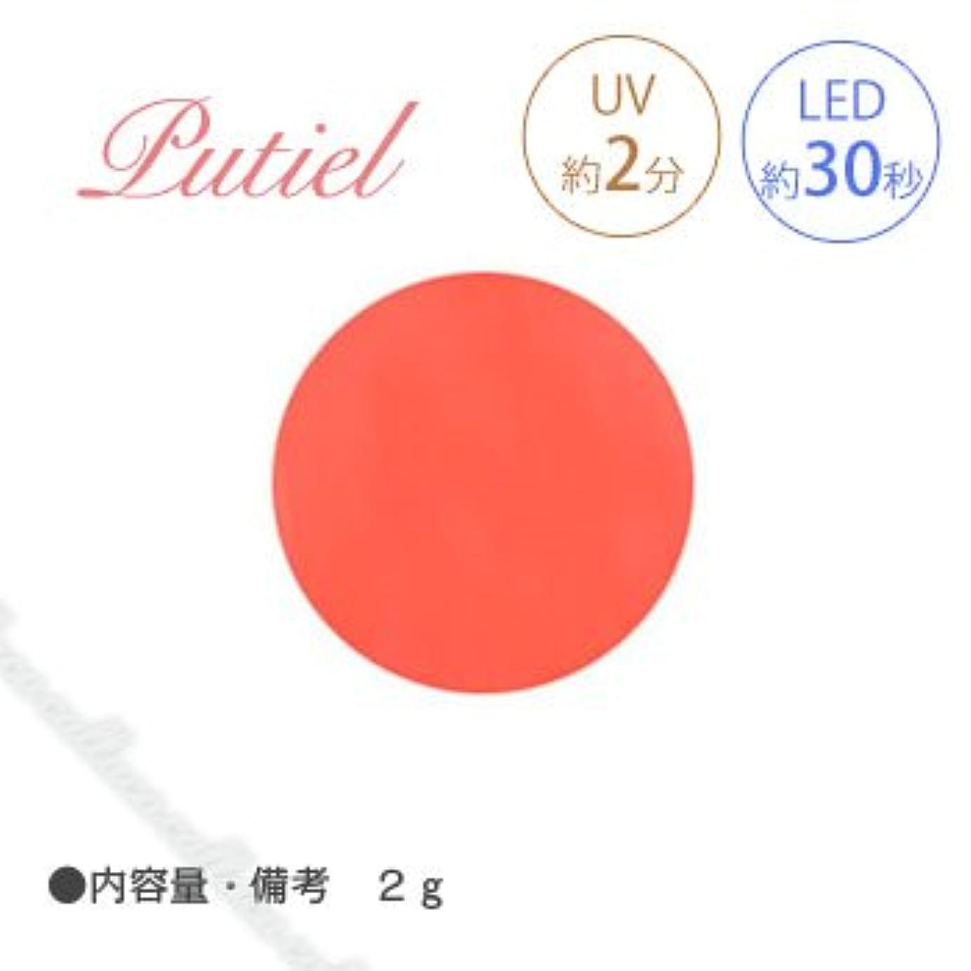 妖精鉄異なるPutiel プティール カラージェル 148 ソフトネオンオレンジ 2g