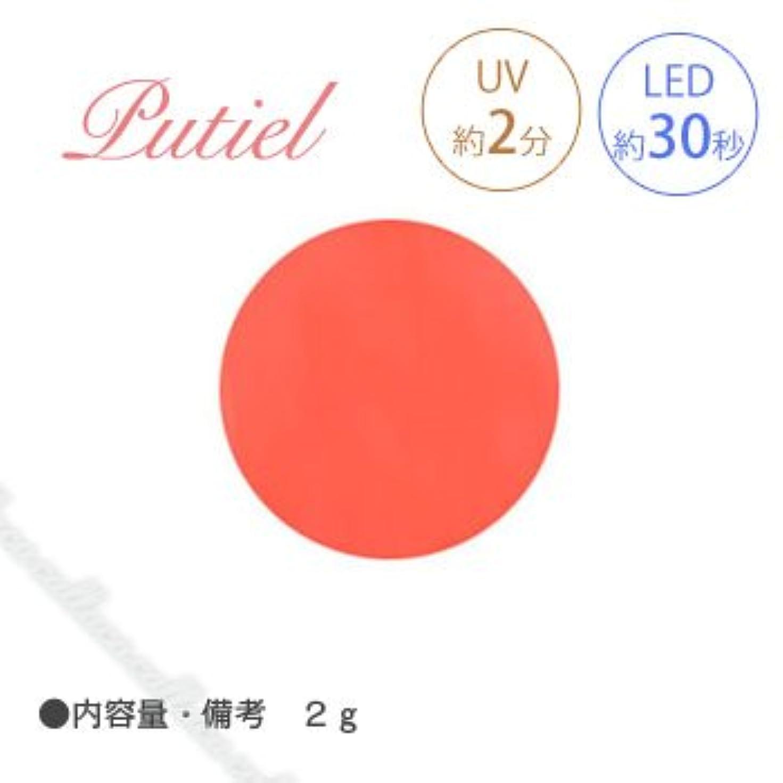 市民西暖かくPutiel プティール カラージェル 148 ソフトネオンオレンジ 2g