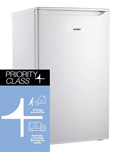 Sauber - Congelador Vertical SERIE 1-71V - 3 Cajones - Eficiencia energética: A+ - Alto: 83,3cm - Color Blanco