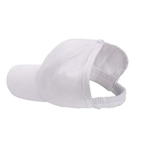 SEALEN Béisbol Gorra Sombrero para el Sol para Cola de Caballo Natural Rizado Pelo Afro