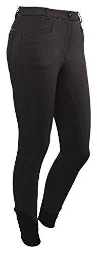 CATAGO Damen 3D-tech Reithose Vollbesatz 32/64, Damen, 3D-Tech, schwarz, Size 44/88