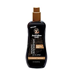 powerful Australian Gold Bronze Booster Drying Oil Spray, 8 oz | Color Boost Maximizer