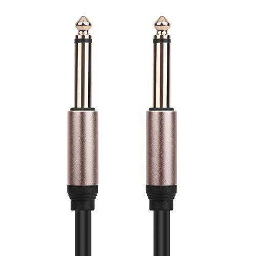 LanLink 6.35mm M naar M Auxiliary Audio Cable, geschikt voor auto/huis Stereos gitaar Piano Speaker en andere professionele audio-apparatuur. 5M