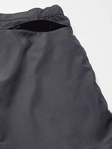 Wrangler Authentics Men's Performance Side Elastic Utility Short, Carbonite, 36
