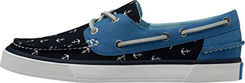 Helly Hansen W Sandhaven, Chaussures bateau Femme, Bleu (Navy/Cornflower/Off White 597), 36 EU