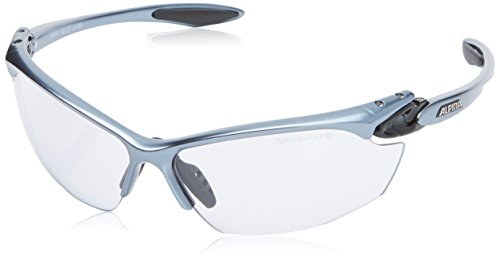 Alpina Unisex Sportbrille Twist Four VL+, tin-black, A8434125
