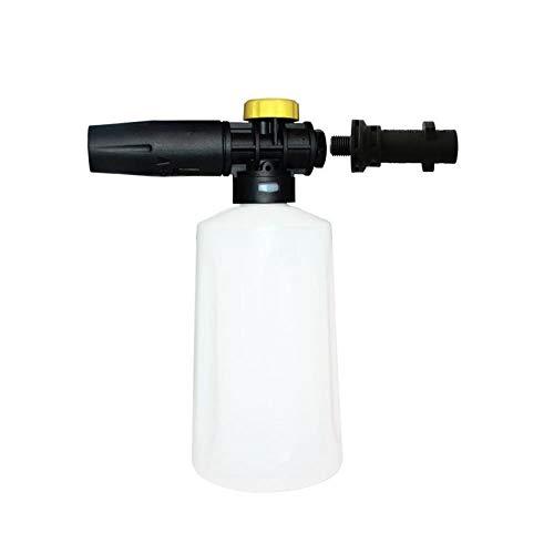 LIXUDECO Boquilla Nieve Espuma de lanza for Karcher K2 - K7 alta presión pistola de espuma de cañón todo el plástico portátil espumador Boquilla for auto Lavadora Jabón pulverizador Lavadora de alta p