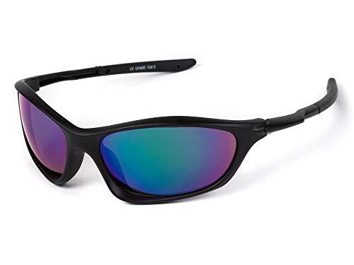 Kiddus Sporty Gafas de sol deportivas para niño niña, la mejor seguridad y protección UV 400 para disfrutar de actividades al aire libre