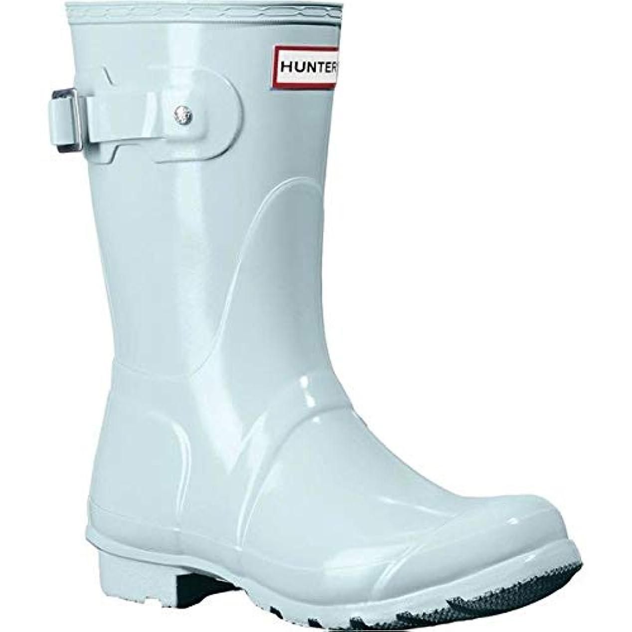 参照郵便局ピーブ[ハンター] レディース ブーツ&レインブーツ Original Short Gloss Rain Boot [並行輸入品]