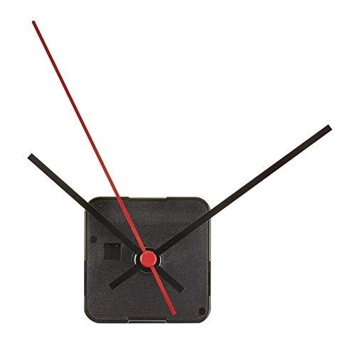 TFA Dostmann Analoges Uhrwerk, 60.3060.01, Basteluhrwerk, inkl 4 Uhrzeigersets, schwarz, (L) 56 x (B) 34 x (H) 56 mm