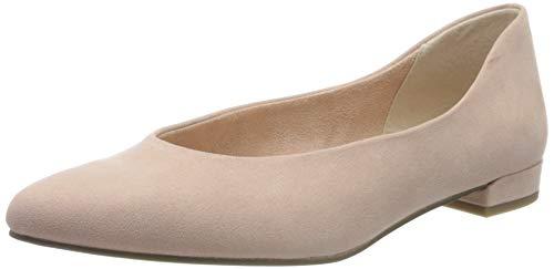 MARCO TOZZI Damen 2-2-22201-24 Geschlossene Ballerinas, Pink (Rose 521), 37 EU