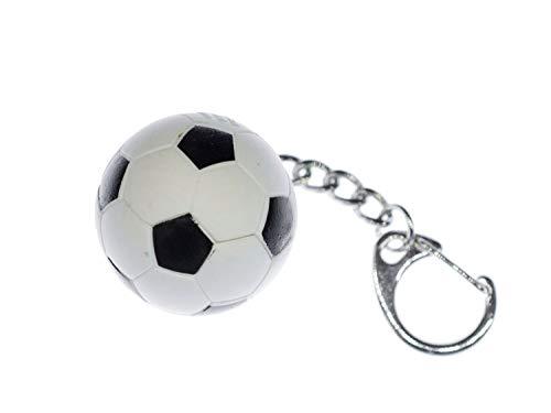 Miniblings llaveros Bolas de Bolas de fútbol de Caucho EM WM Sport - Hecho a Mano Joyas de Moda I I Colgante Llavero Llavero
