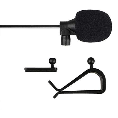 LINHUIPAD Pioneer Bluetooth Car Radio Micrófono Montaje Externo para fh-x700bt fh-x720bt Mic Número de Pieza: CPM1083 (Enchufe de 2,5 mm)