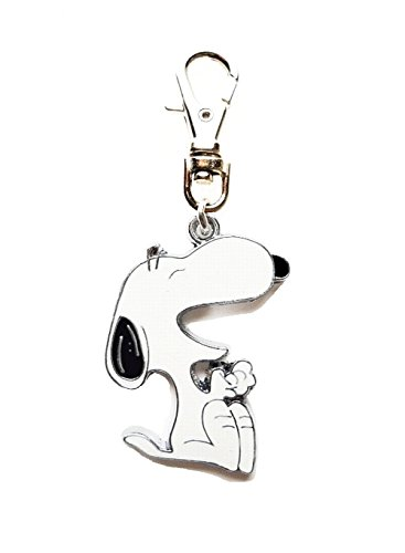 LAUGHING SNOOPY DOG PEANUTS CHARACTER JEWELRY CHARM FOR YOUR PETS COLLAR, PURSE, LEASH, JOB LANYARD, DIY PROJECT, ETC.