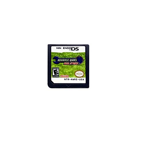 Advance Wars Dual Strike Game Card For Nintendo DSL DSI DS 3DS XL 2DS