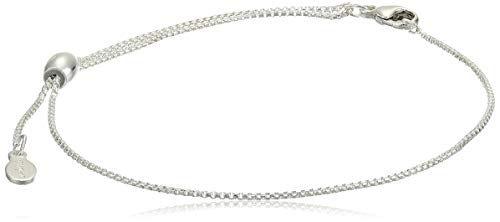 Alex And Ani Replenishment 19 Women's Pull Chain Clasp Bracelet, Sterling Silver
