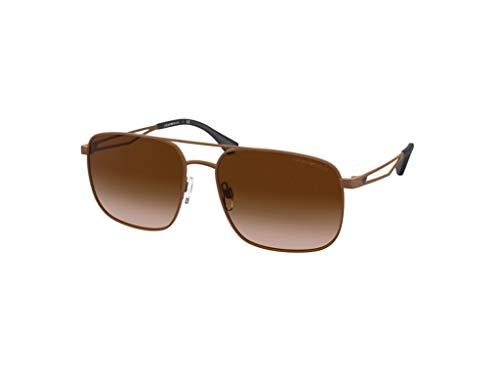 Emporio Armani Gafas de sol EA2106 302013 Gafas de sol hombre color Marrón marrón tamaño de lente 58 mm