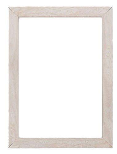 Breit Konfetti Holz Rahmen Range Fotorahmen   Bilderrahmen   Poster–wd-cnfeti-rnge-2-parent, weiß, a2