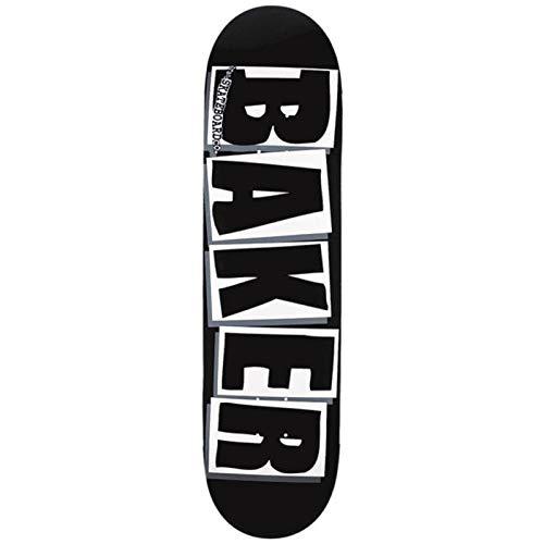 Baker Skateboard Brand Logo blk WHT 8.475 x 31.875