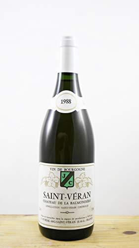Wein Jahrgang 1988 Saint-Véran Château de la Balmondière Flasche
