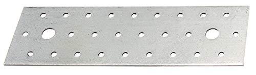 GAH-Alberts 339074 Lochplatte | sendzimirverzinkt | 200 x 60 mm | 12er Set