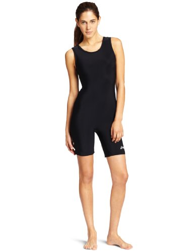ASICS Women's Solid Modified Singlet, Black, Large