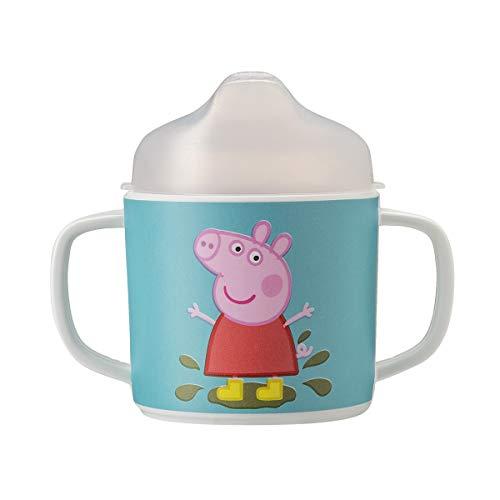 Petit Jour Paris – Taza Peppa Pig – Indispensable para aprender a beber solo.