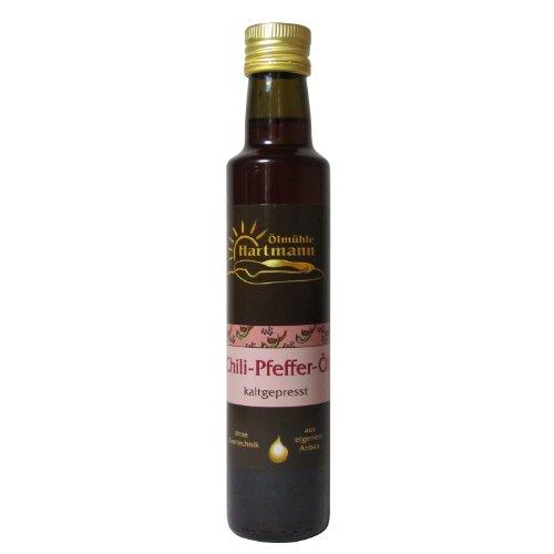 Ölmühle Hartmann GbR, Chili-Pfeffer-Öl, 250 ml