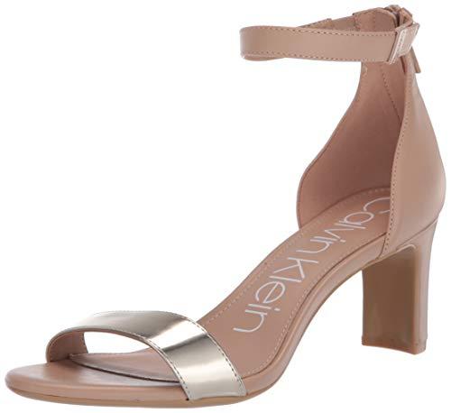 Calvin Klein Womens's Chandari Heeled Sandal