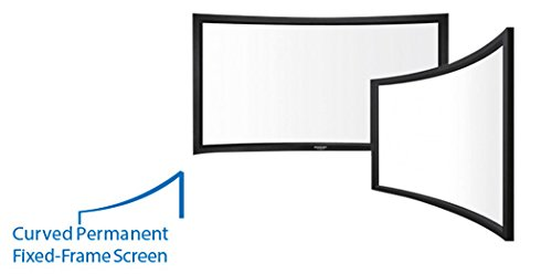 Grandview Curved Fixed Frame Projector Screen (123' Diagonal - Widescreen[16:10])