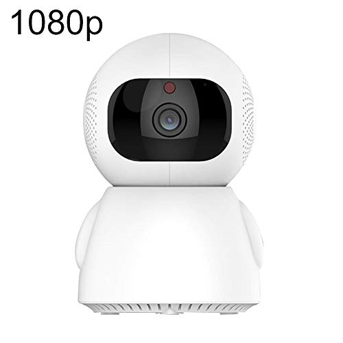 fanmaosdf FullHD 1080p WiFi Home Security Camera Pan/Tilt/Zoom - Best Rated Smart App, Wireless IP Indoor Surveillance System - Night Vision, Remote Baby Monitor iOS Two Million Pixels 1080p
