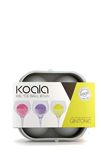 koala 6620NN01-stampo per Il Ghiaccio per Gin Tonic, Colore Nero, 2
