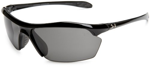 Under Armour Zone XL Sunglasses Rimless, Black/Gray Lens, 70 mm